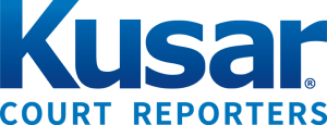 Kusar Court Reporters Logo